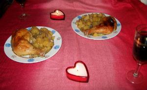 быстрый романтический ужин на скорую руку