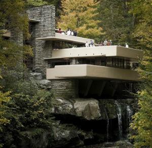Дом на водопаде Fallingwater