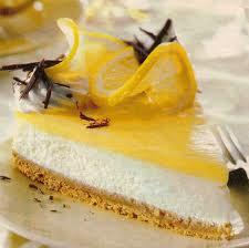 Лимонный торт с сыром без выпечки