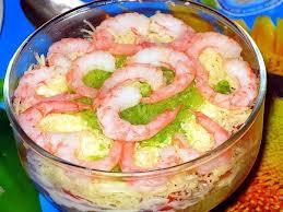 Новогодний салат мореман