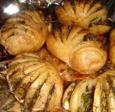 Ракушки из картошки