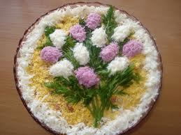 Салат букет сирени