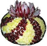 Салат цветок любви