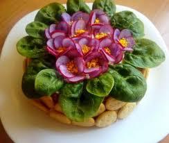 Салат фиалка