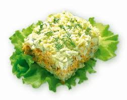 Салат с рыбой моя нежность
