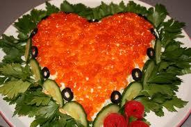 Салат-сердце