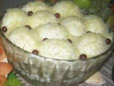 Салат сугробы