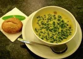 Суп-пюре из патиссонов