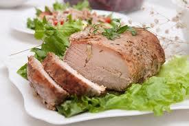 Запеченное ароматное мясо в духовке нежность