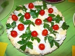 Салат ягодная полянка