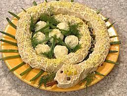 Салат змеиное гнездо